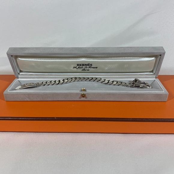 Hermes Jewelry - Hermes Sterling Silver Bracelet